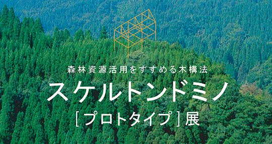 民家の差し鴨居を現代化した構法スケルトンドミノは、壁から解放された「日本の木の家」をつくります