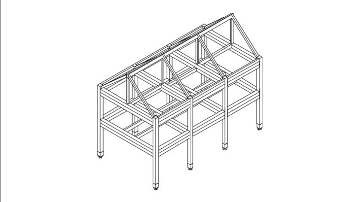 「木造ドミノ」2方向半剛接で平面と空間の多様性を得る